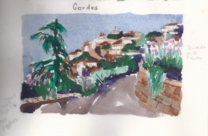 Gordes, Journal