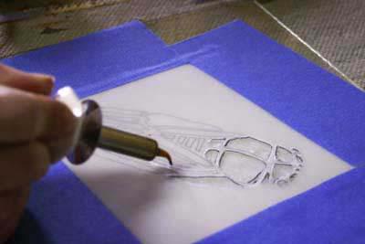 Cicada Stencil