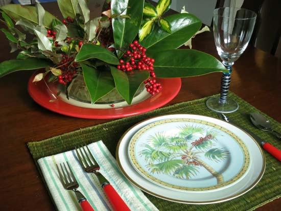 Winter Garden Tablescape ©2014 Lucinda Howe