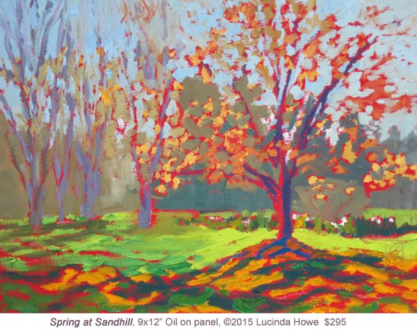 Spring at Sandhill by Lucinda Howe