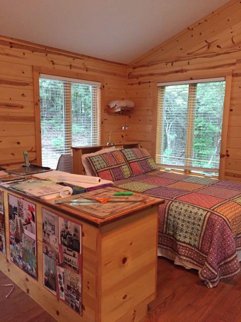Laurel Cabin Bed Wildacres